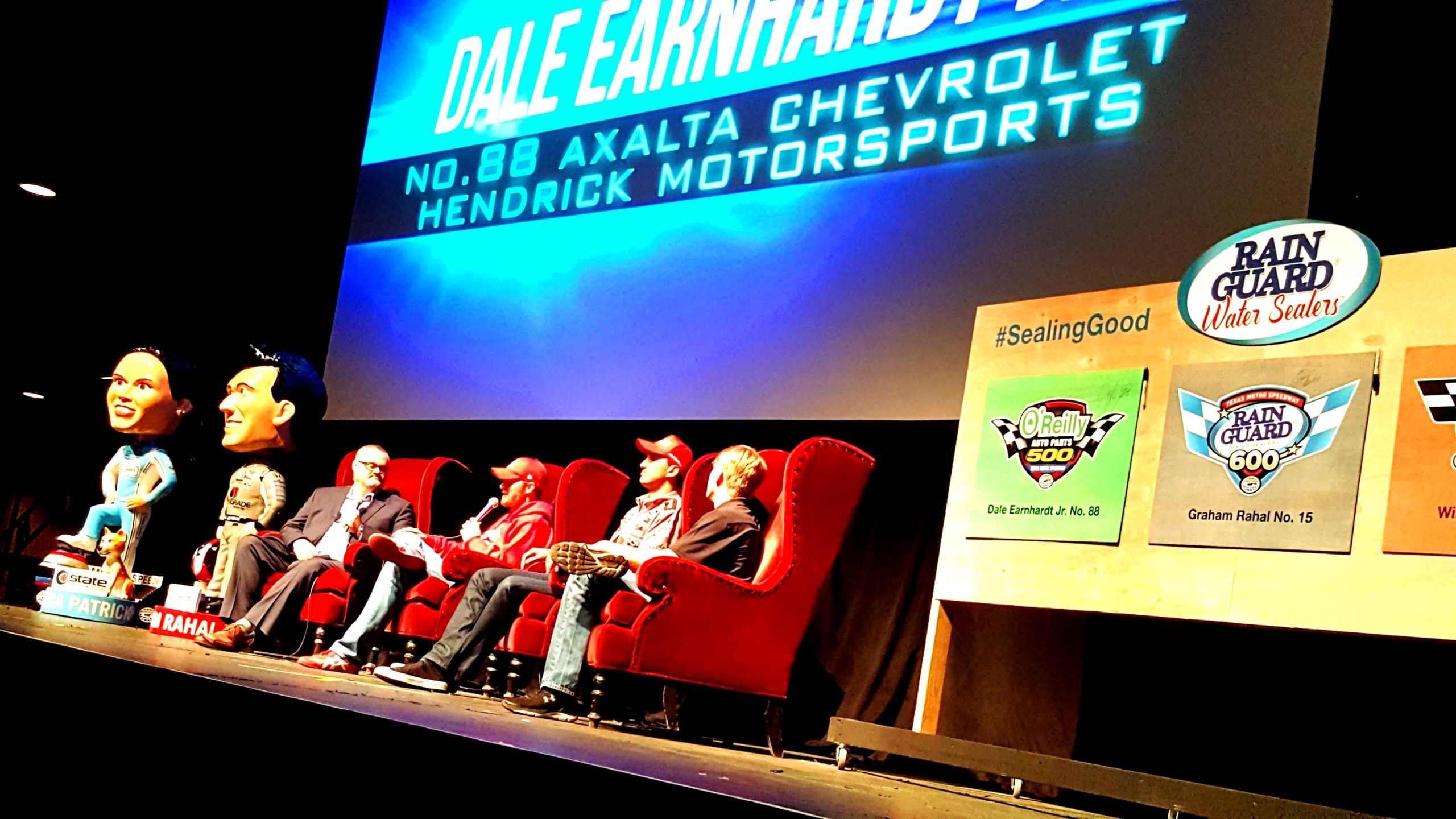 Dale Motorsports Marketing Rahal Rainguard