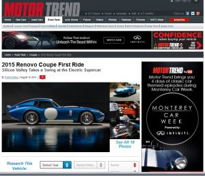 Motor Trend Article