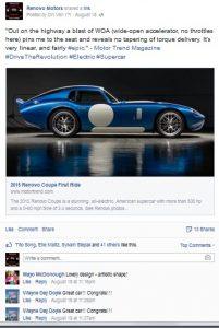 Motor Trend Renovo Facebook