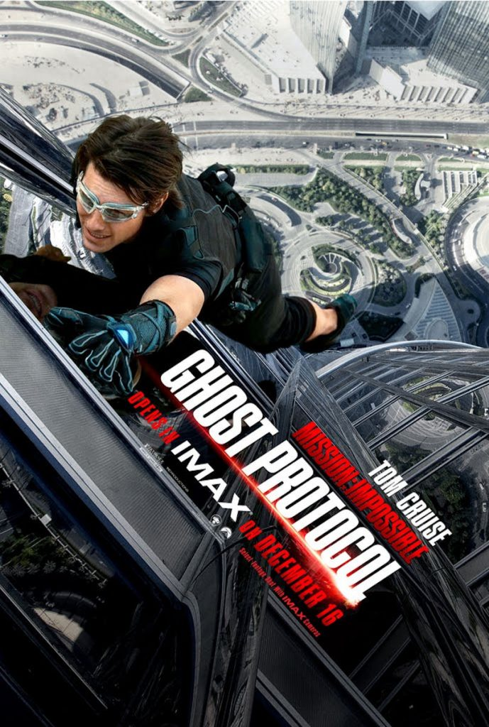 Tom Cruise Mission Impossible Ghost Protocol IMAX Banner